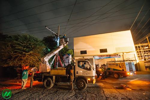 MORE Power in the streets f Iloilo City.