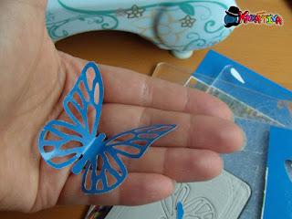 farfalle di carta fai da te