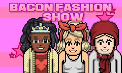 Veja a pagina dos participantes do reality Bacon Fashion Show