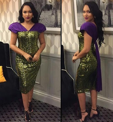 Latest Sequins Gown Styles in Nigeria