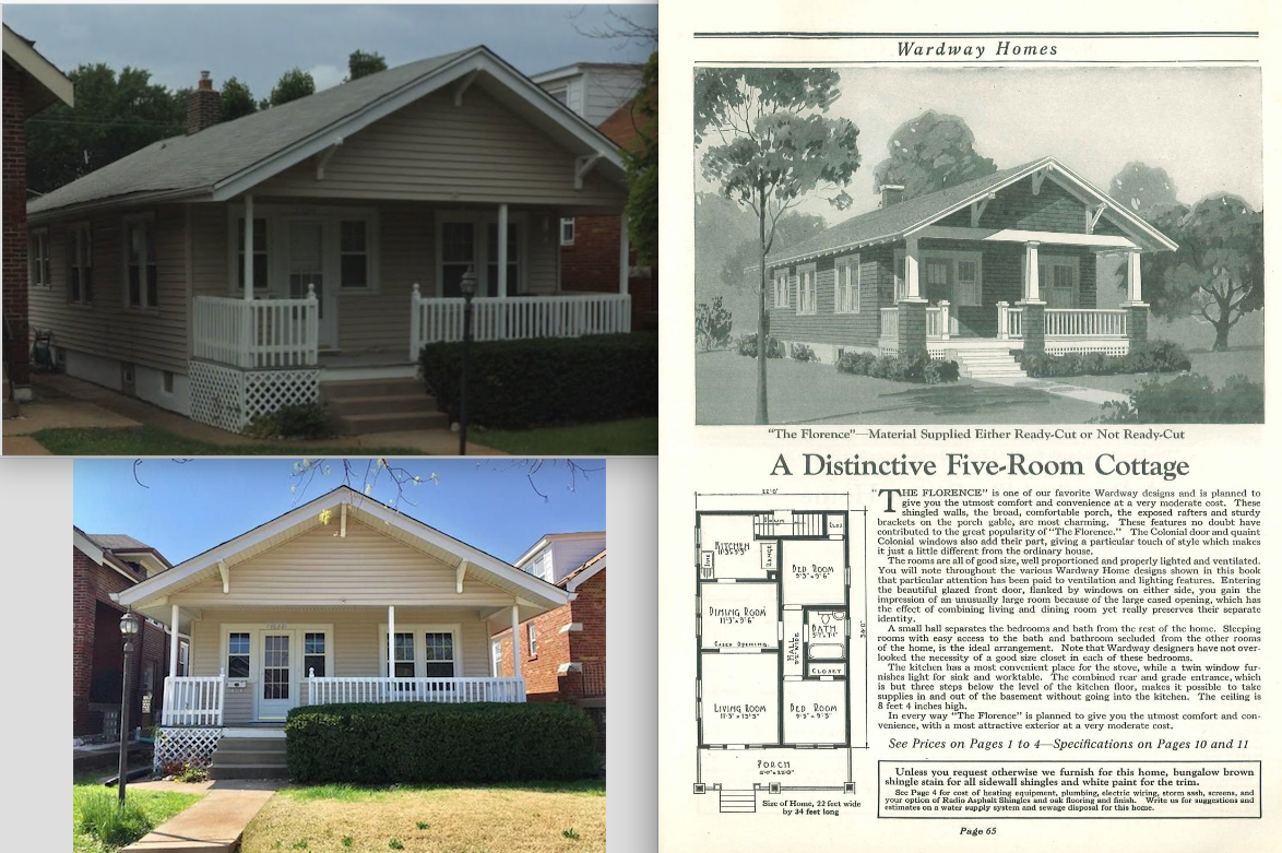 Sears House Seeker: Wardway Florence In South St  Louis