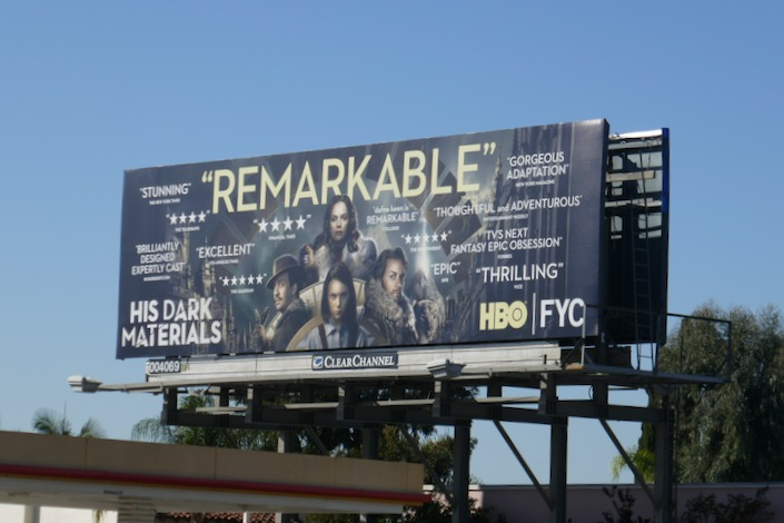 His Dark Materials 2019 FYC billboard