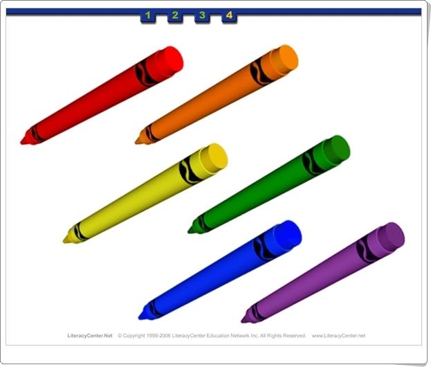 """""""Los Colores"""" (Actividad interactiva de Educación Infantil)"""