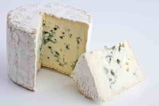 Bleu de Bresse cheese