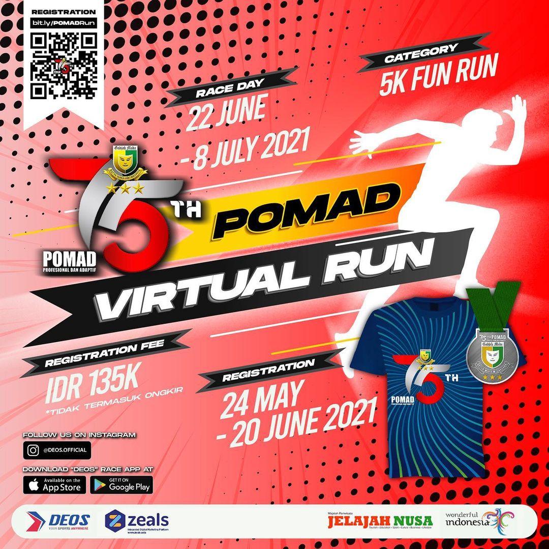 POMAD Virtual Run • 2021