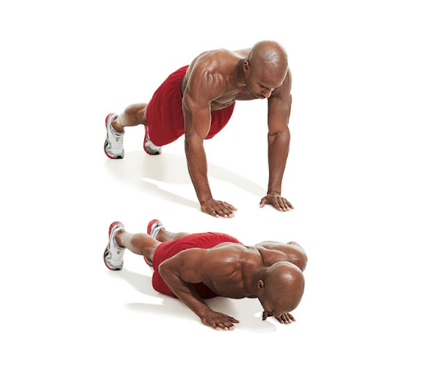 Best Chest Exercises of All Time - 30 Exercise - Close-Grip Push Up