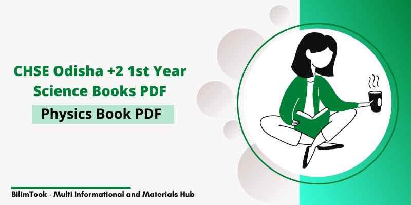 CHSE Odisha plus two 1st year Physics book PDF, +2 Books