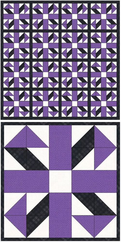 Jack in the Box Quilt Block - Tutorial
