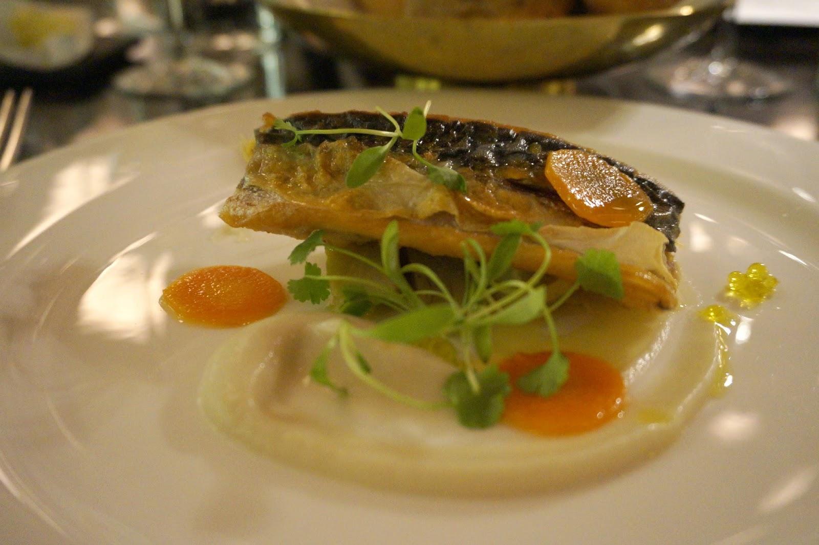 mackerel escabèche starter
