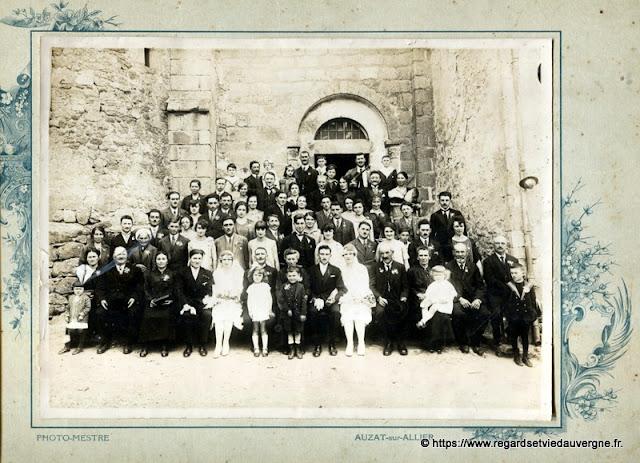 photo de mariage, Mestre Auzat sur Allier.