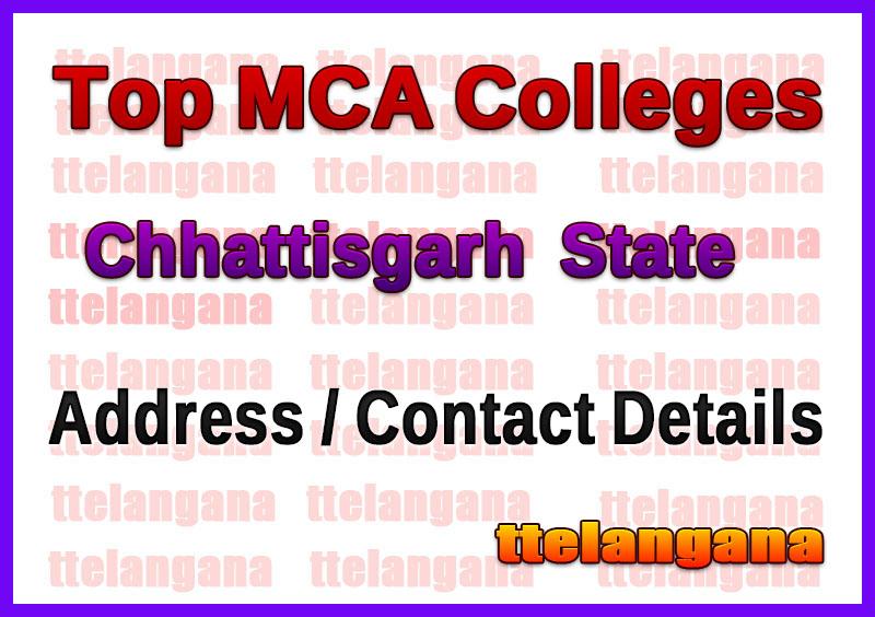 Top MCA Colleges in Chhattisgarh
