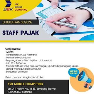 Staff Pajak di Y2K Mobile Computing