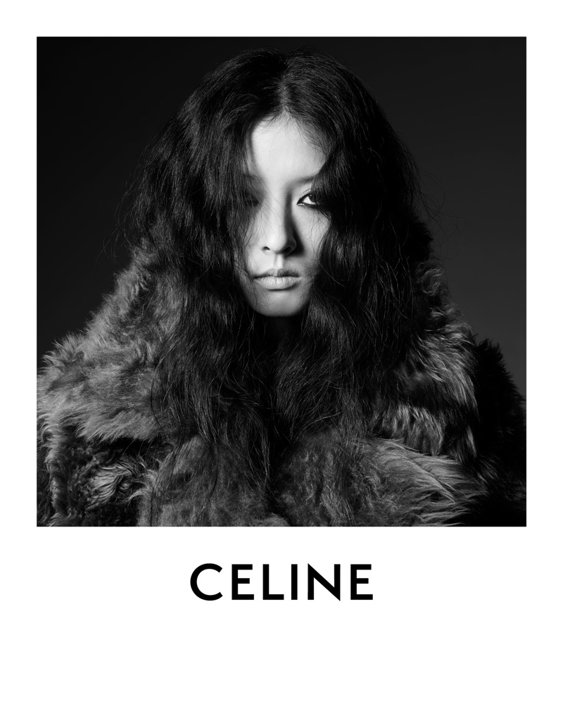 So Young Kang models Celine's Spring/Summer 2020 ensembles