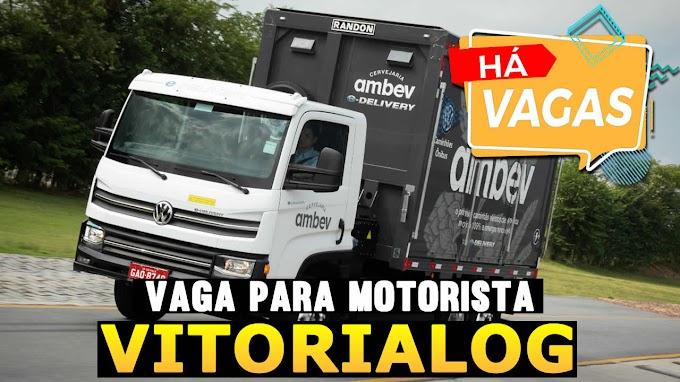 TRANSPORTADORA VITORIA LOG ABRE VAGAS PARA MOTORISTA CATEGORIA D