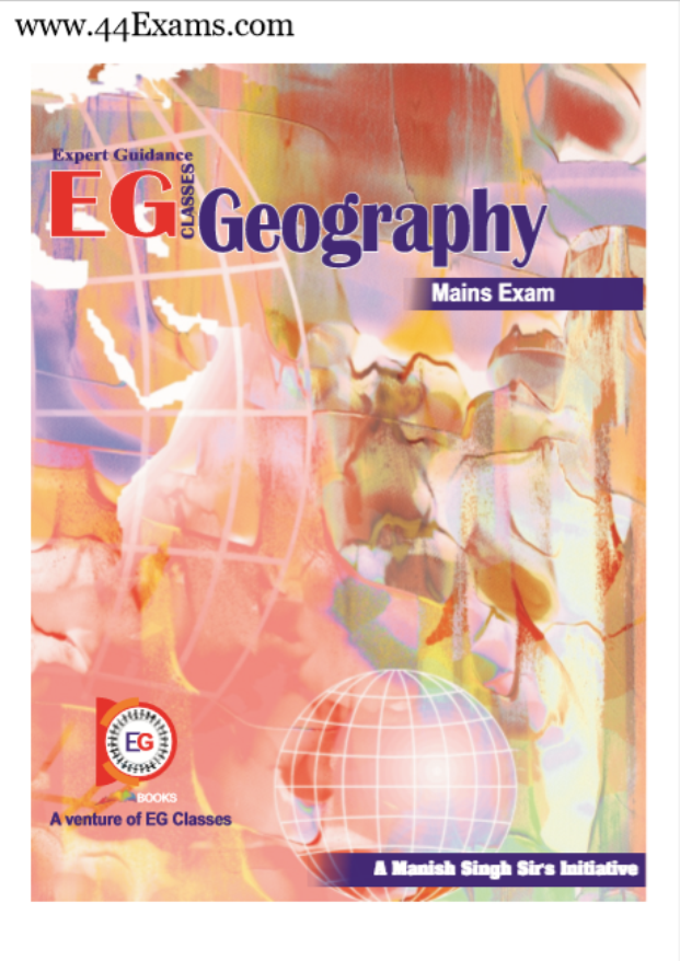 Geography by Expert Guidance Classes : For UPSC Exam PDF Book