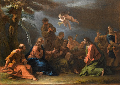 πίνακας ζωγραφικής: The Sermon on the Mount   Sebastiano Ricci (Belluno 1659 - Venice 1734)