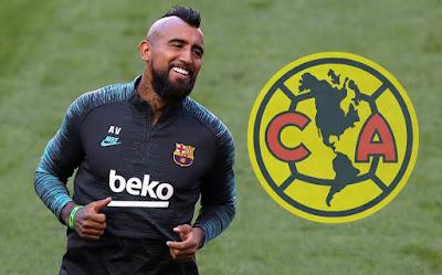 ¿Vidal jugador América México?