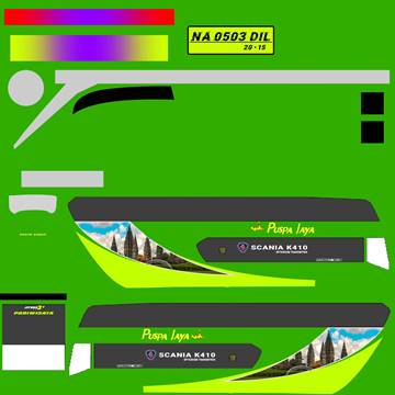Livery JB3+ SDD MD Creation Puspa Jaya