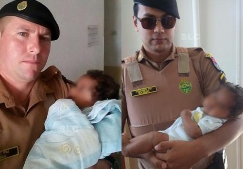 Mãe abandona bebê de 3 meses na Rodovia da Uva em Colombo