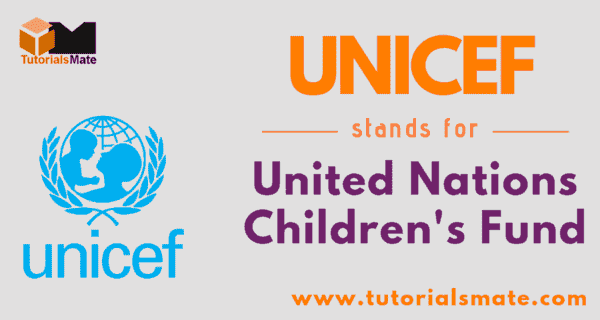 UNICEF Full Form