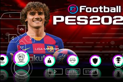PES 2020 PPSSPP Android Ukuran Kecil (300 MB) Camera PS4 Offline Terbaru