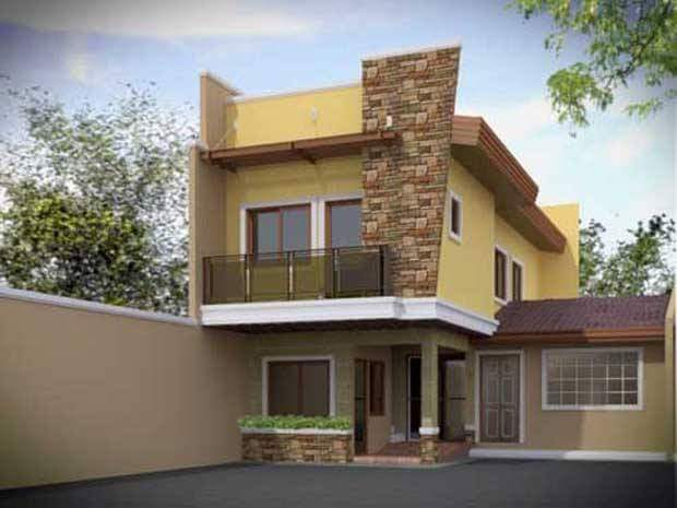 2 story house photos in the philippines bahay ofw for Simple new house design