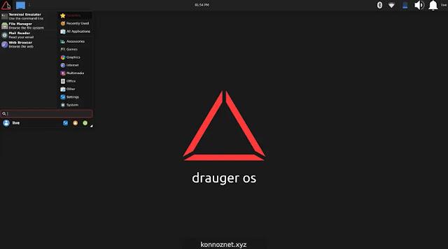 توزيعة Drauger OS