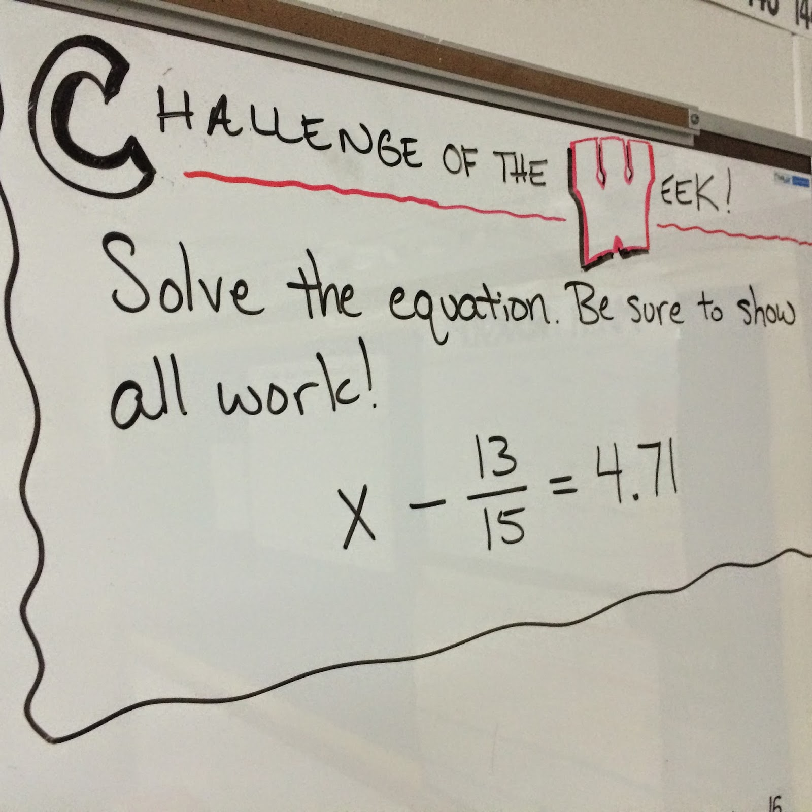 Middle School Math Man: Challenge of the Week [ 1600 x 1600 Pixel ]