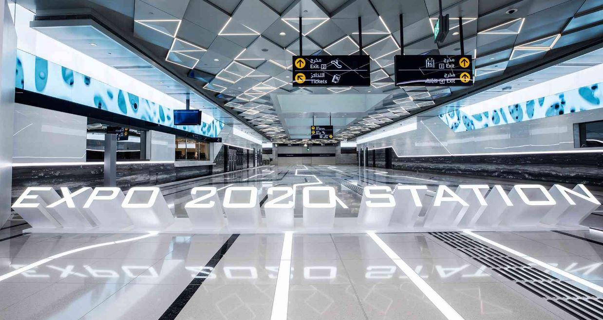 خدمة الحافلات الخاصة تقدمها طرق دبي Dubai لزوار إكسبو
