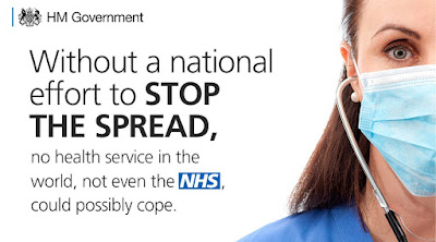 Stop the spread UK Govt Coronavirus advice