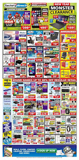 Factory Direct weekly Flyer January 4 – 11, 2017