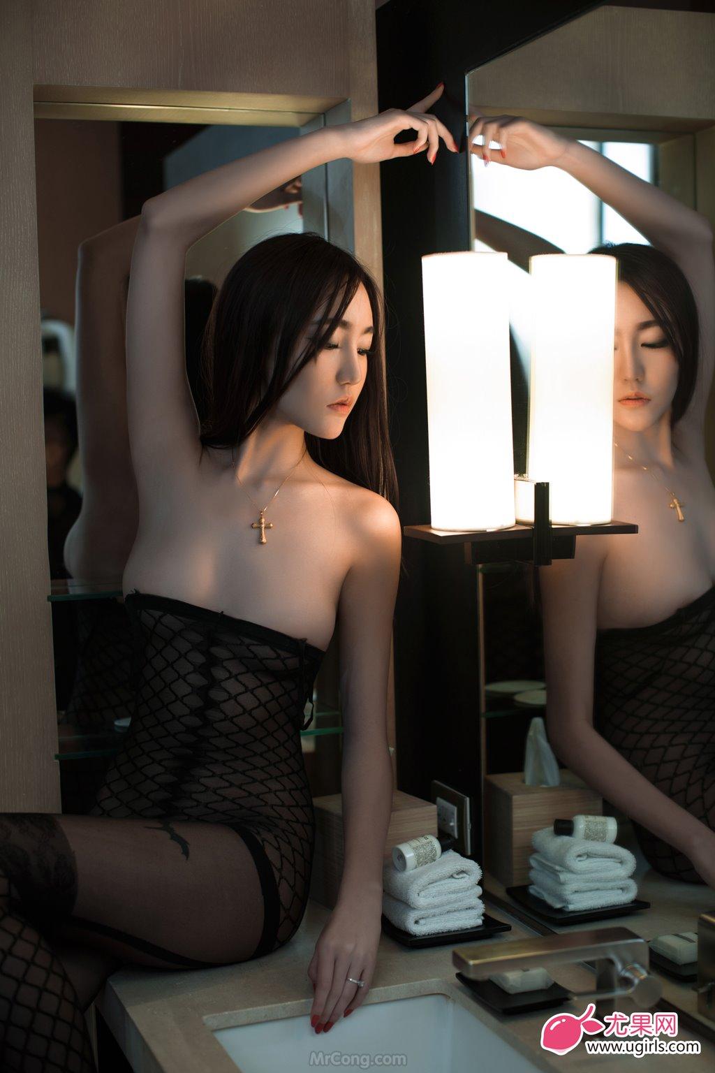 Image MrCong.com-UGIRLS-026-Guo-Wan-Qi-023 in post Người đẹp Guo Wan Qi (郭婉祈) gợi cảm trong bộ ảnh UGIRLS 026