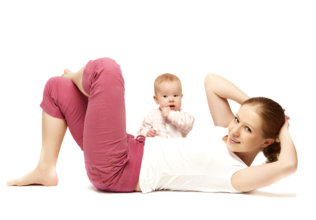 Lose weight in a week after pregnancy