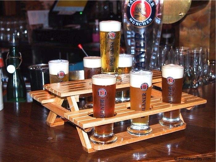 Paulaner Beer Garden – exclusive beer and good food