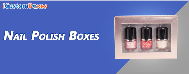 Custom Nail Polish Boxes