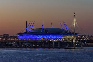 Matt Rakowski Krestovsky Stadium St Petersburg