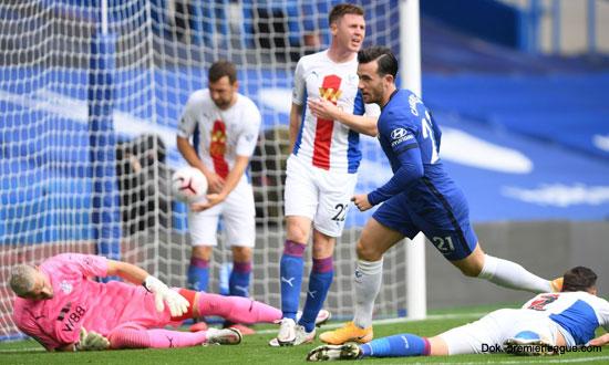 Liga Inggris: Chelsea Hajar Crystal Palace, Empat Gol Tanpa Balas