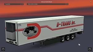 Standalone D-Trans bv. trailer mod