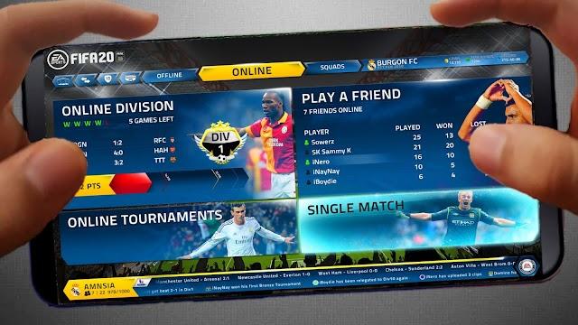 BAIXAR FIFA 20 MOD FIFA 16 MOBILE PARA ANDROID