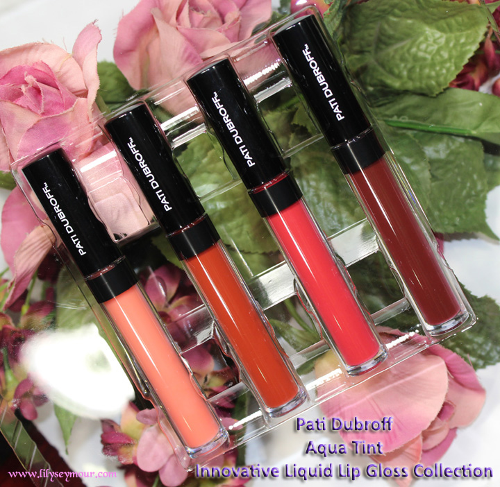 Pati Dubroff Aqua Tint Lip Gloss Collection