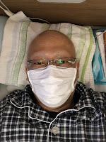 入院中の筆者