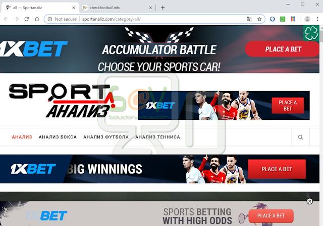 redirecciones a Sportanaliz.com