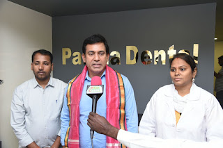 A Grand Inauguration Of 97th Partha Dental Clinic in nalgonda