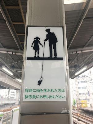 Señal en una estación