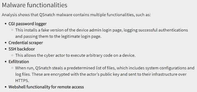 QSnatch Malware Attack