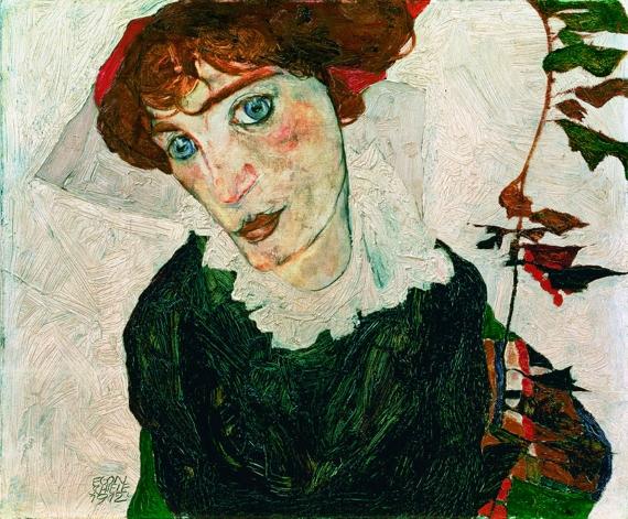 Egon Schiele - Портрет Валери Нойцель