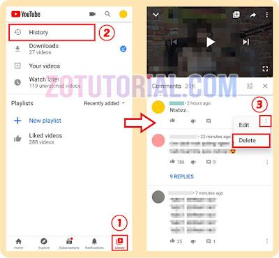 5 Langkah Hapus Komentar di Youtube Lewat HP Android