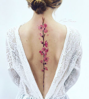 back tattoo for girls