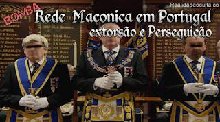 maçonaria Portugal extorsão