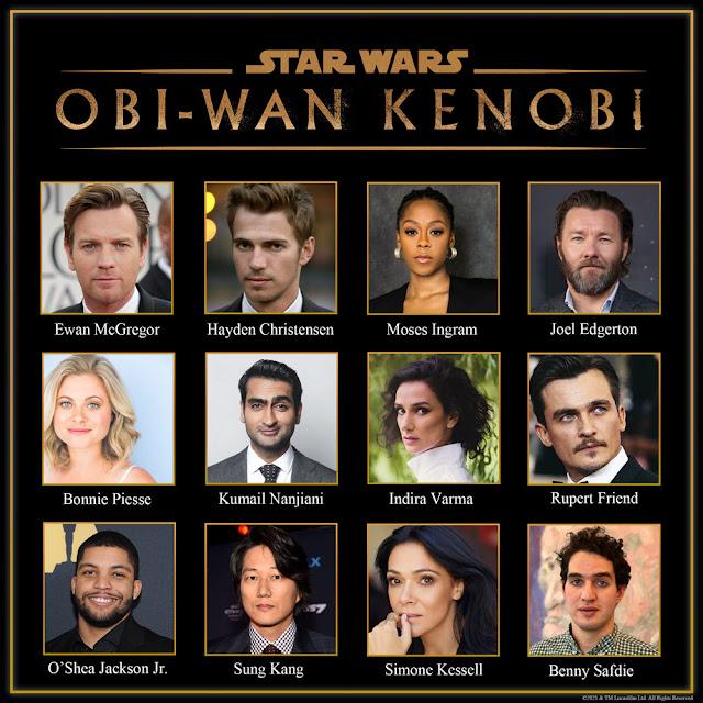 Star Wars, obi-wan-kenobi-series-cast-announcement